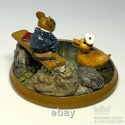 2001 Wee Forest Folk PM-4 JUST DUCKY Special Edition Mint condition Retired E2M
