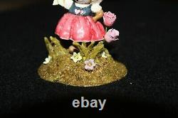 2016 Wee Forest Folk M-566 A Tulip for You! Excellent Condition Retired