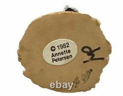 Annette Petersen Wee Forest Folk Say Cheese M-72 1972 Retired With Box VERY RARE