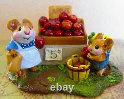 M- 187, Adam's Apple, Wee Forest Folk, Retired 2011, with Box