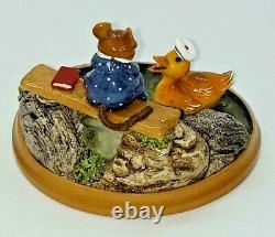 NEW, PM-4, Just Ducky, Wee Forest Folk, Miniature Figurine, Retired, with box