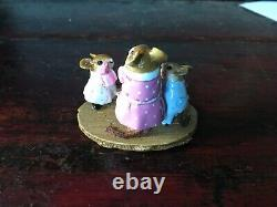 NEW Wee Forest Folk A Mothers Day Morning M-569a Special Retired Rare
