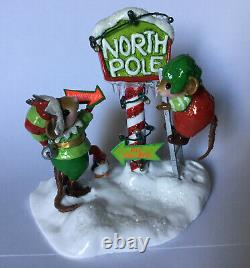 NEW Wee Forest Folk NORTH POLE ELVES M-550a Limited Edition 2019 Retired