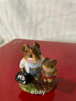 RARE! Wee Forest Folk Mouse Call M-97 1983. DAMAGED! Retired Piece