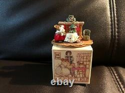 Retired Wee Forest Folk, M-191 Christmas Eve Red Skirt with WFF box