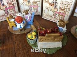 Underpriced! Must Sell! Wee Forest Folk LOT 6 Rare & Retired withOriginal Box