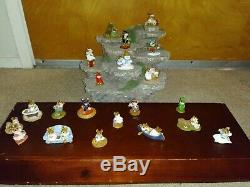 Vintage Lot Wee Forest Folk Retired Collection 21 Pieces