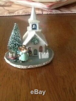 WEE FOREST FOLK A Midnight Clear by Donna Petersen MIB/Retired