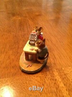 WEE FOREST FOLK HOME SWEET HOME, M-227, issued in 1997 Donna Petersen retired
