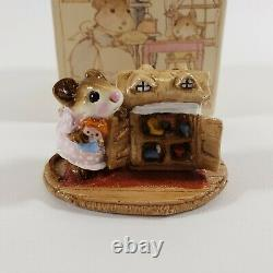 WEE FOREST FOLK M-102 Mousey's Dollhouse 1983 RETIRED