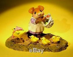 WEE FOREST FOLK M-185c CHICK PARADE-RETIRED-Apr. 2012