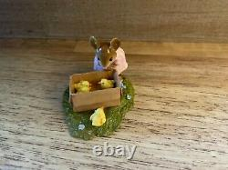 WEE FOREST FOLK-SPRING PEEPERS-M-347s Ltd Ed Retired, MIB, made only 2 months