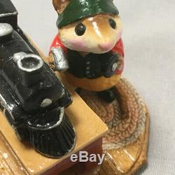WEE FOREST FOLK Santa's Trainee William Petersen #M-116 Retired 1984 Orig Box