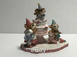 Wee Forest Folk 30th Anniversary Party, retired and limited