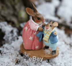 Wee Forest Folk B-26 Bundle Up Bunny (RETIRED)