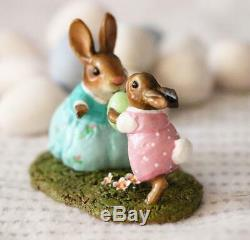 Wee Forest Folk B-31a Come to Bunny! (Girl) (RETIRED)