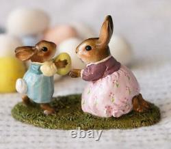 Wee Forest Folk B-31b Come to Bunny! (Boy) (RETIRED)