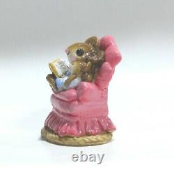 Wee Forest Folk Baby Sitter M-019 Mouse 1977 to 1981 Retired collectible gift
