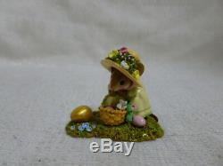 Wee Forest Folk Big Egg Little Basket Easter Edition M-389 Retired