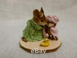 Wee Forest Folk Bundle of Joy Mother's Day Special Edition M-366a Green Retired