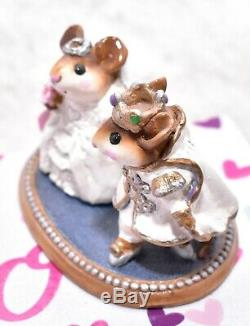 Wee Forest Folk C-5 Cinderella's Wedding White Prince RETIRED Mice Mouse