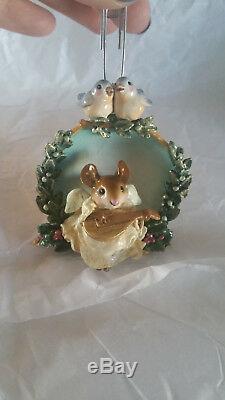 Wee Forest Folk CO-1 Christmas Angel Ornament NIB RETIRED