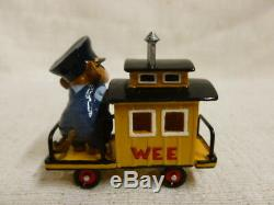 Wee Forest Folk Caboose Special Edition M-453e Circus Train Retired