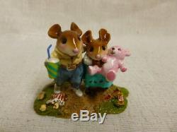 Wee Forest Folk Carnival Keepsake Special Edition M-467 Teddy Bear Retired
