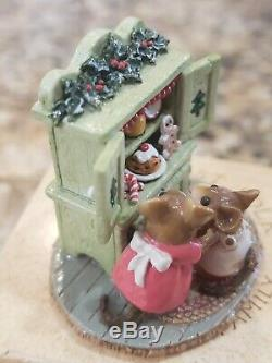 Wee Forest Folk Christmas Cupboard Special Edition M-241 Retired Green