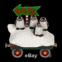 Wee Forest Folk Christmas M-453p Tuxedo Express (RETIRED)