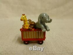 Wee Forest Folk Circus Car Special Edition M-453b Circus Train Retired