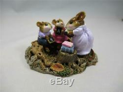 Wee Forest Folk Country Classroom Ltd Edition FTF Retired WFF Box