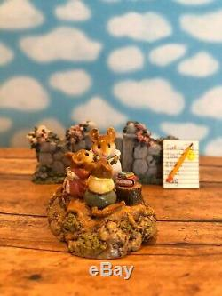 Wee Forest Folk Country Classroom M-268 2001, Retired, Mint, Used. Box