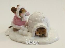 Wee Forest Folk Crtstal's Ice Palace M-275b Light Pink Coat Retired 2013