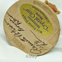 Wee Forest Folk Crystal Clear Fortune Teller Millennium M-2000 2000 Retired AP