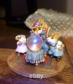 Wee Forest Folk Crystal Clear Special Limited Edition M-2000 Retired WFF