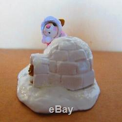 Wee Forest Folk Crystals Ice Palace M275b Light Pink coat/retired