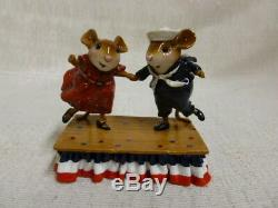 Wee Forest Folk Dancing For The Stars And Stripes Fourth of July M-369s Retired