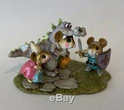Wee Forest Folk Dragon Fantasy Retired Limited