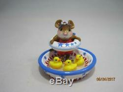 Wee Forest Folk Ducky Dip Limited Edition 2013 M-278a Retired New in Wff Box