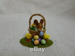 Wee Forest Folk Easter Bounty Boy Special Edition M-504b Retired