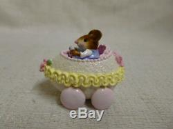 Wee Forest Folk Easter Egg Mobile Boy Purple Easter Edition M-274a Retired