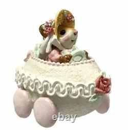 Wee Forest Folk Easter Egg Mobile Girl Pink White Easter Edition M-274a Retired