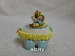 Wee Forest Folk Easter Egg Mobile Girl Yellow Blue Easter Edition M-274a Retired