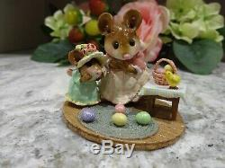 Wee Forest Folk Easter Surprise Easter Edition M-330b Retired MIB