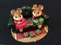 Wee Forest Folk First Date M-134 Christmas Special Retired Never Displayed