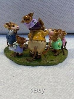 Wee Forest Folk Folktoberfest Let's Play event piece, rare and retired