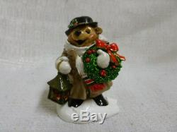 Wee Forest Folk Good Tidings Christmas Special BB-8 Retired Bear