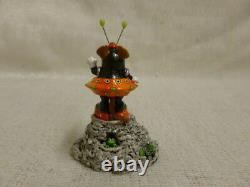 Wee Forest Folk Greetings Limited Edition 2003 Orange Event Piece Retired
