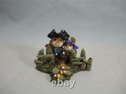 Wee Forest Folk Halloween Candy Corn Trail Retired WFF in Box